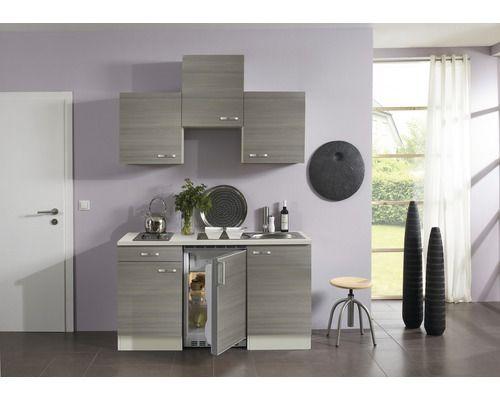 singlek che kompakt vigo 150 cm pinie fantasie nougat mini k chen pinterest eiche. Black Bedroom Furniture Sets. Home Design Ideas