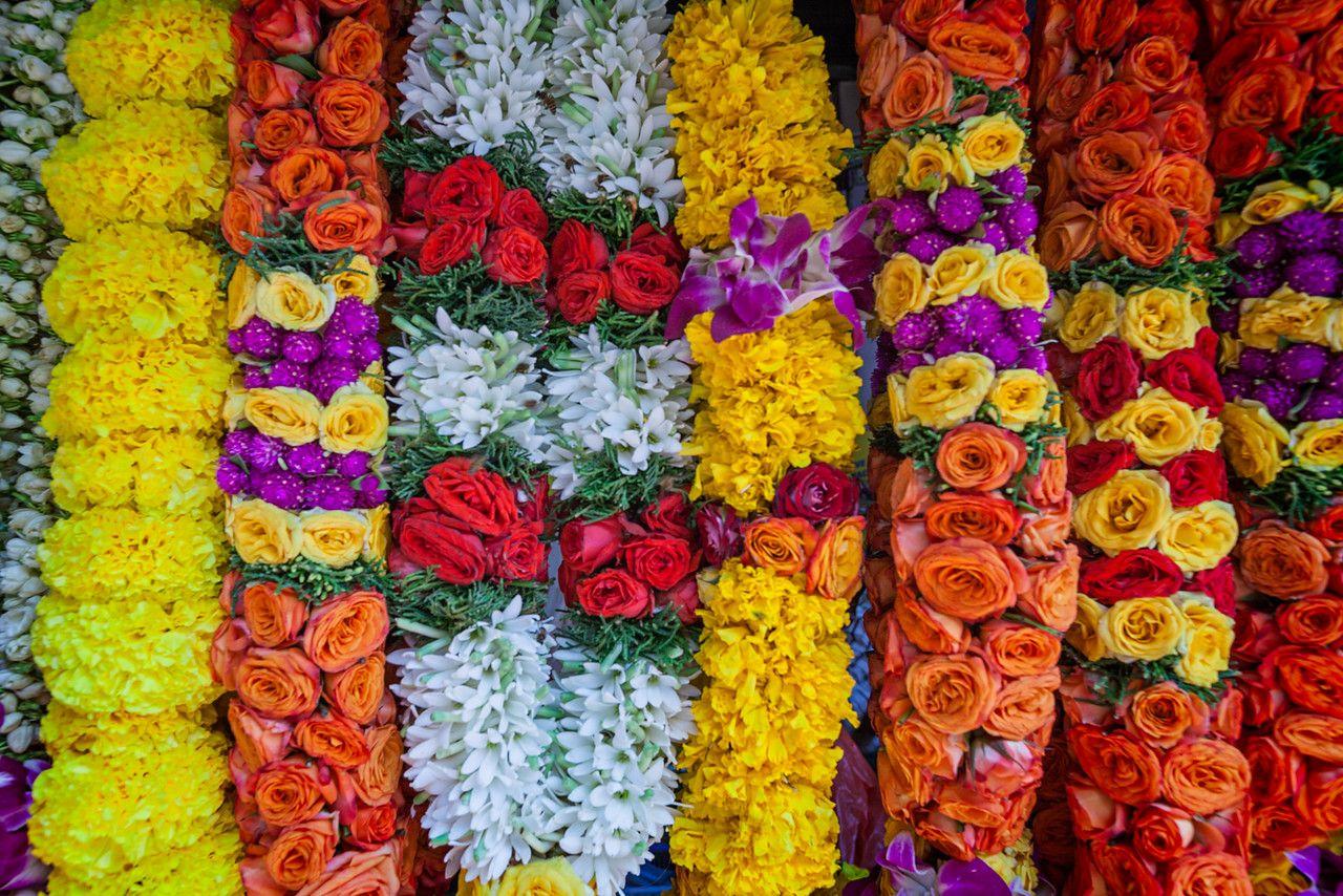 indian bridal flower garland in singapore in 2019 | garland