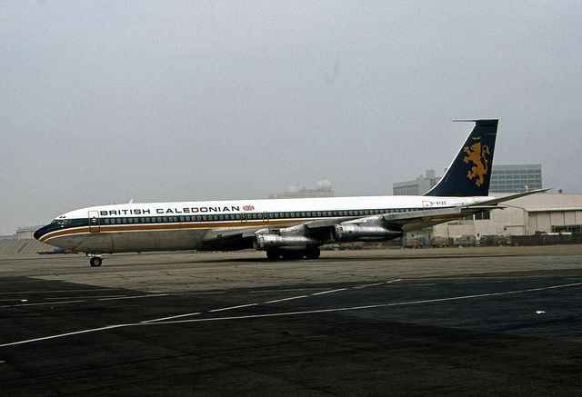 British Caledonian, Boeing 707-300C by Ron Monroe, via Flickr