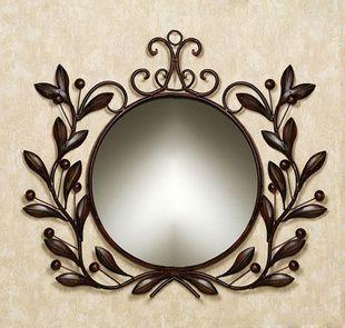 Black Wrought Iron Mirrors Wrought Iron Bathroom Mirror Picture Frame Makeup Mirror Mirrors