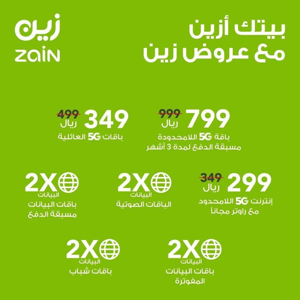 عرض زين السعودية علي باقات الانترنت المختلفة السبت 2 مايو 2020 بيتك ازين عروض اليوم Ipad Air Mobile Boarding Pass