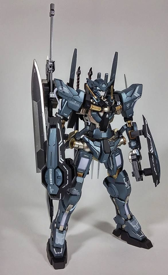 NG 1/100 Gundam Exia Ver. Thirteen Sword - Custom Build by computerkwak