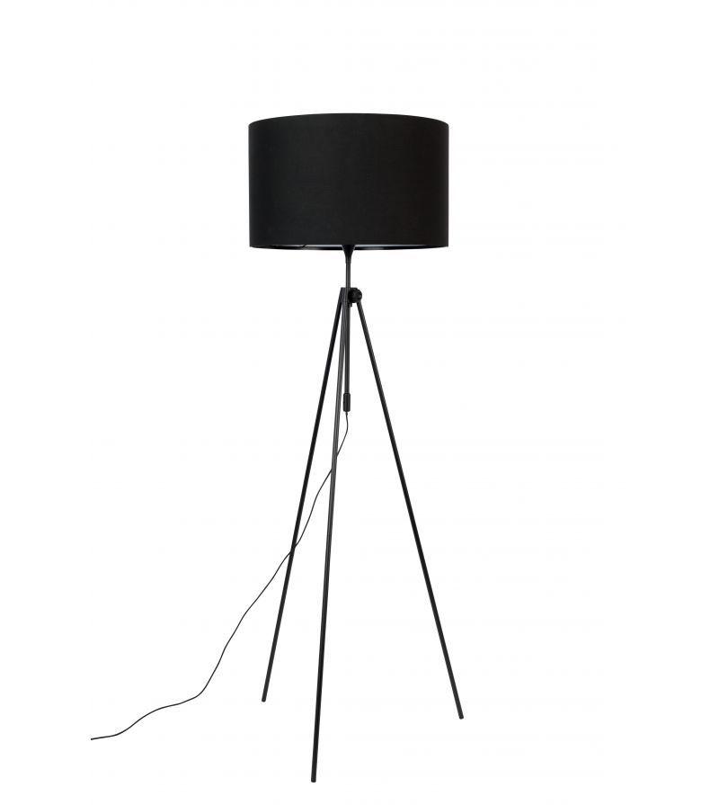 Lampadaire Tripod Lesley Noir Zuiver Lampadaire Tripode Lampadaire Luminaire Design