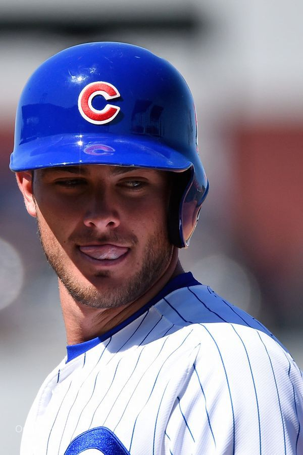 official photos fa6ed 06f05 Kris Bryant tongue   Chicago Cubs   Cubs players, Chicago ...