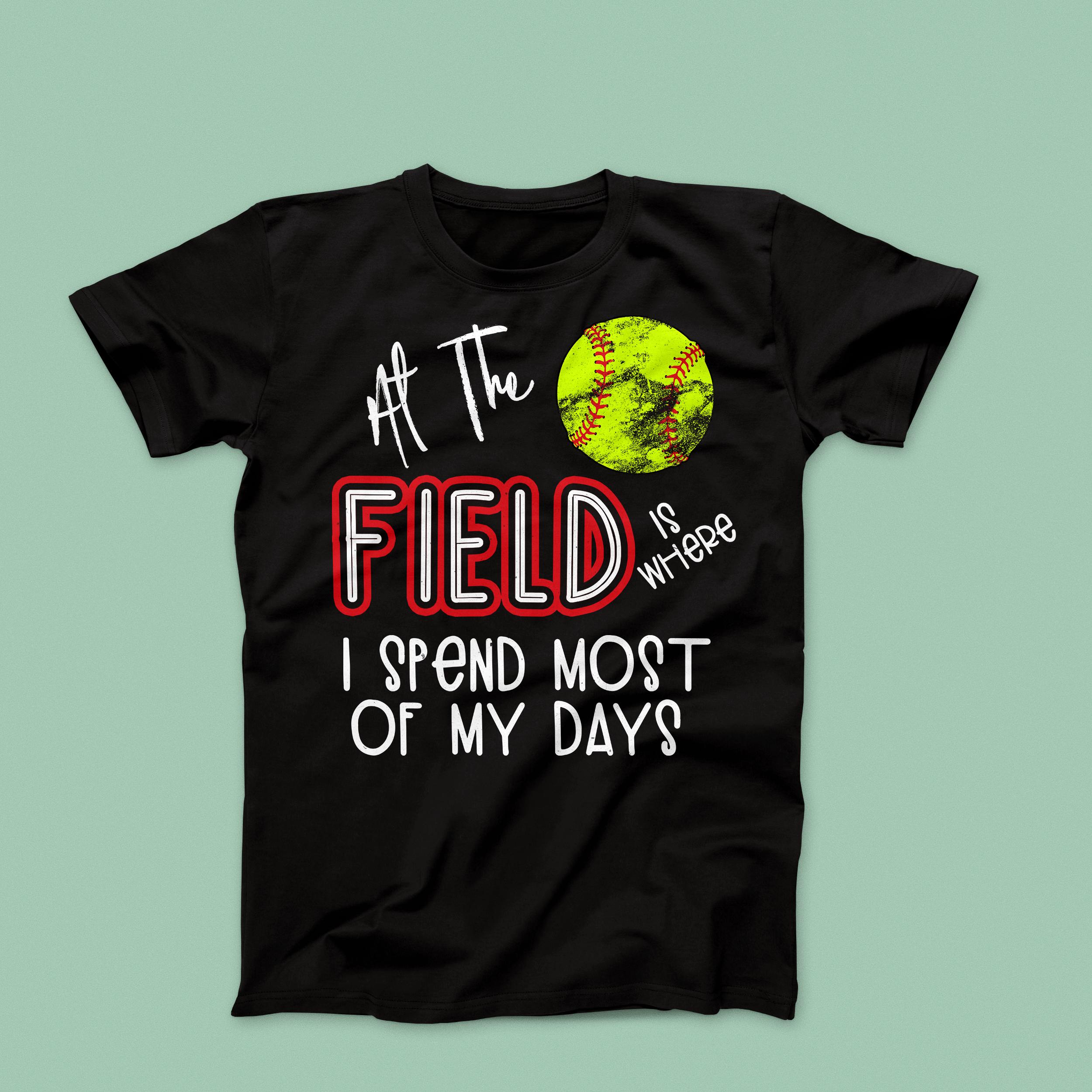 Mom Softball T-Shirts Softball Vibes T-Shirt Cute Softball Shirt Personalized Softball Mom T-Shirt