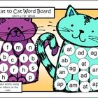 This Short a CVC Board Game FREEBIE from Games 4 Learning can be a game for 2 players or can be used for teacher directed activities.