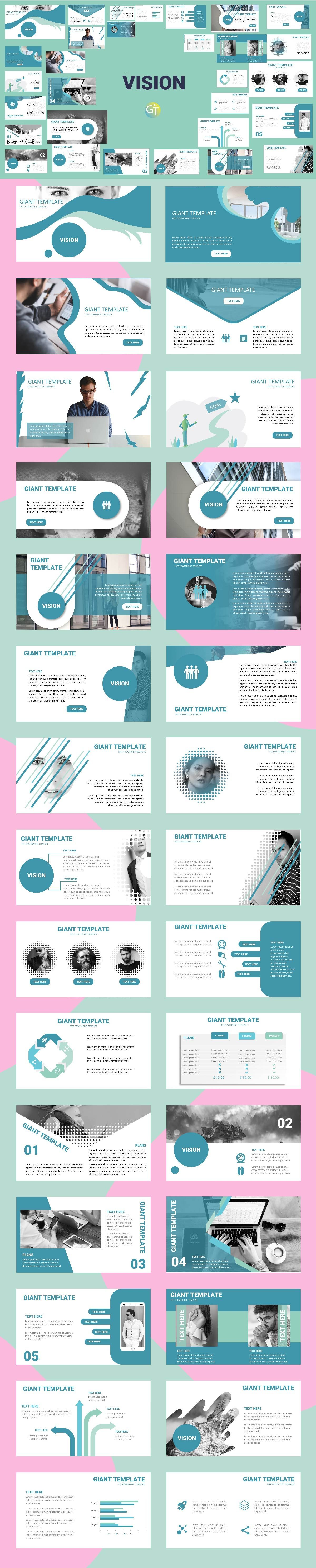 Template Powerpoint Keren Free Download 30 Slide With Animation Ready Using Morph Animation Free Powerpoint Templates Download Powerpoint Templates