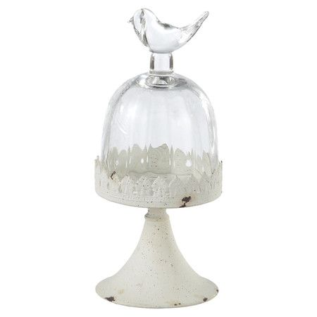 Small Jolie Pedestal with Cloche