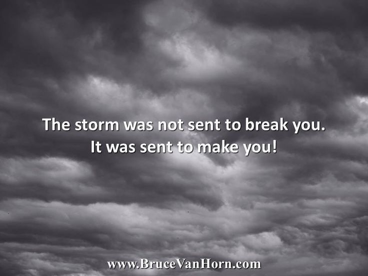 The storm was not sent to break you. It was sent to make you! The sooner you accept and believe this to be true sooner you will be able to move through the storms of your life and come out stronger than when you went in. You are not a victim of circumstance unless you choose to be. Gold is purified by fire. Diamonds are produced only under extreme pressure. You are more precious and beautiful than these. Namaste! #brucevanhorn #grateful #gratitude #hope #inspiration #instagood #instalike…