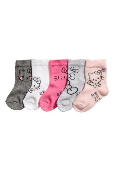 a07ab335 5-pak strømper | Baby | Strømper, Nyfødte og Tøj
