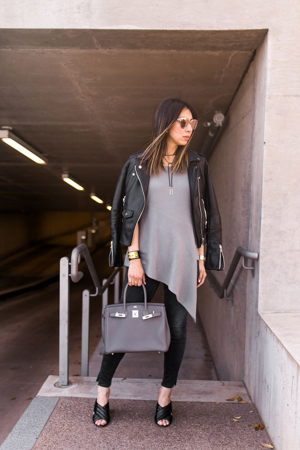 6a0f9a774c grey and black outfit