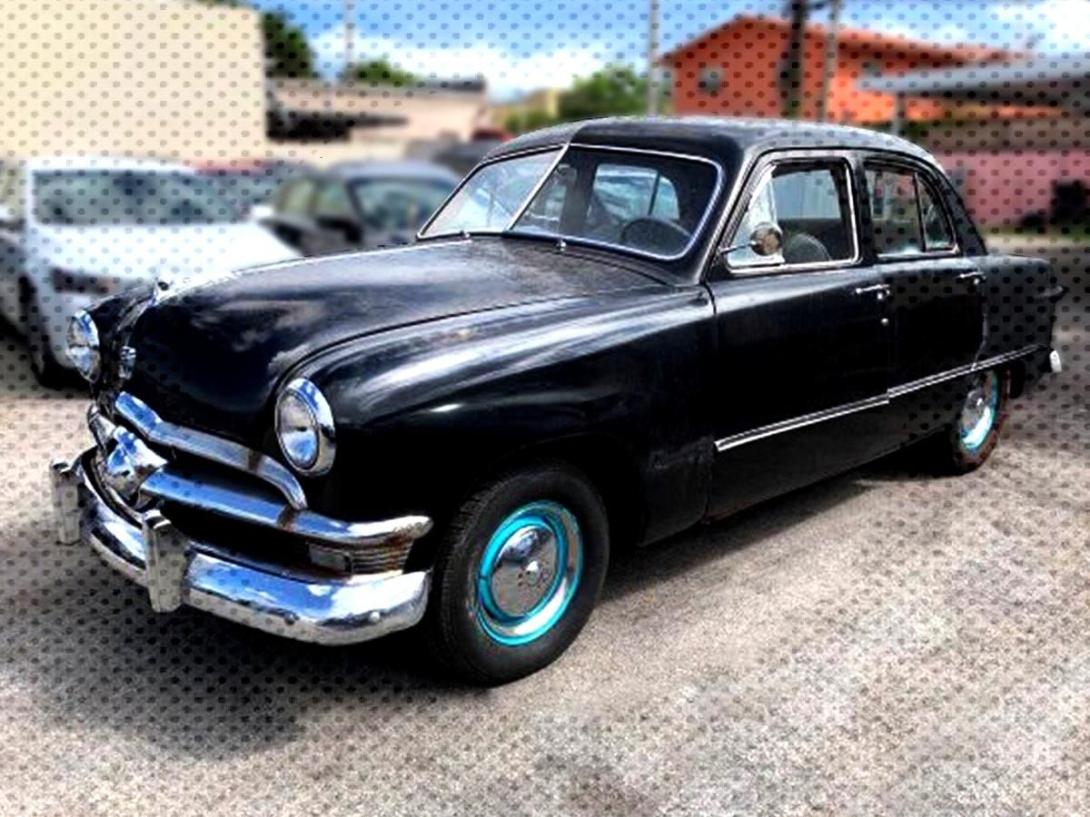 1950 FORD CUSTOM FOR SALE VIN# BONR147535 Are you looking for a stylish vintage car? It's right h