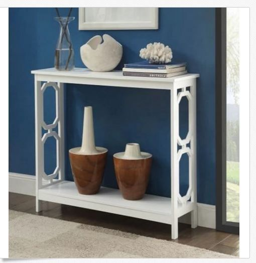 narrow table center console open sofa tall slim entryway small rh pinterest com