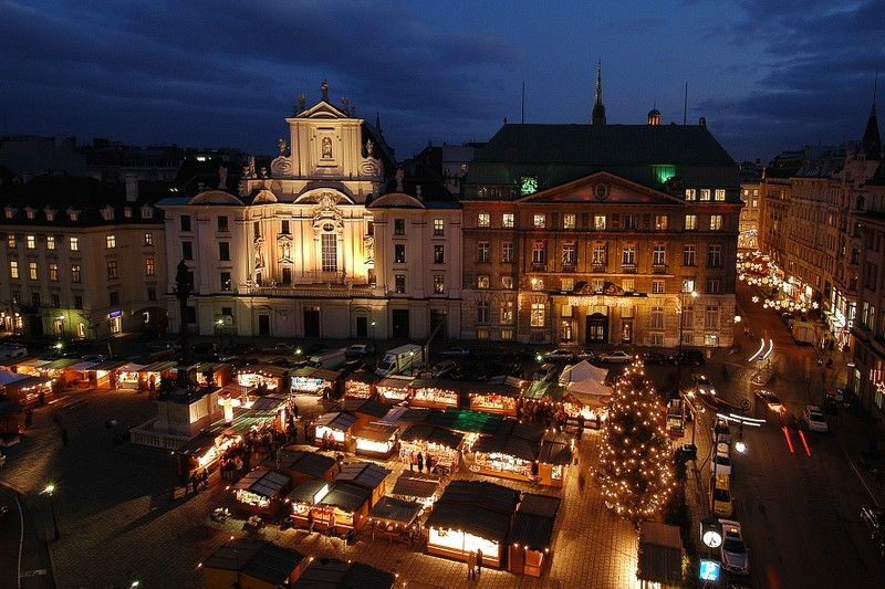 from the middle of november until christmas vienna s prettiest squares transform into magical christmas markets the aroma of christmas baking and hot