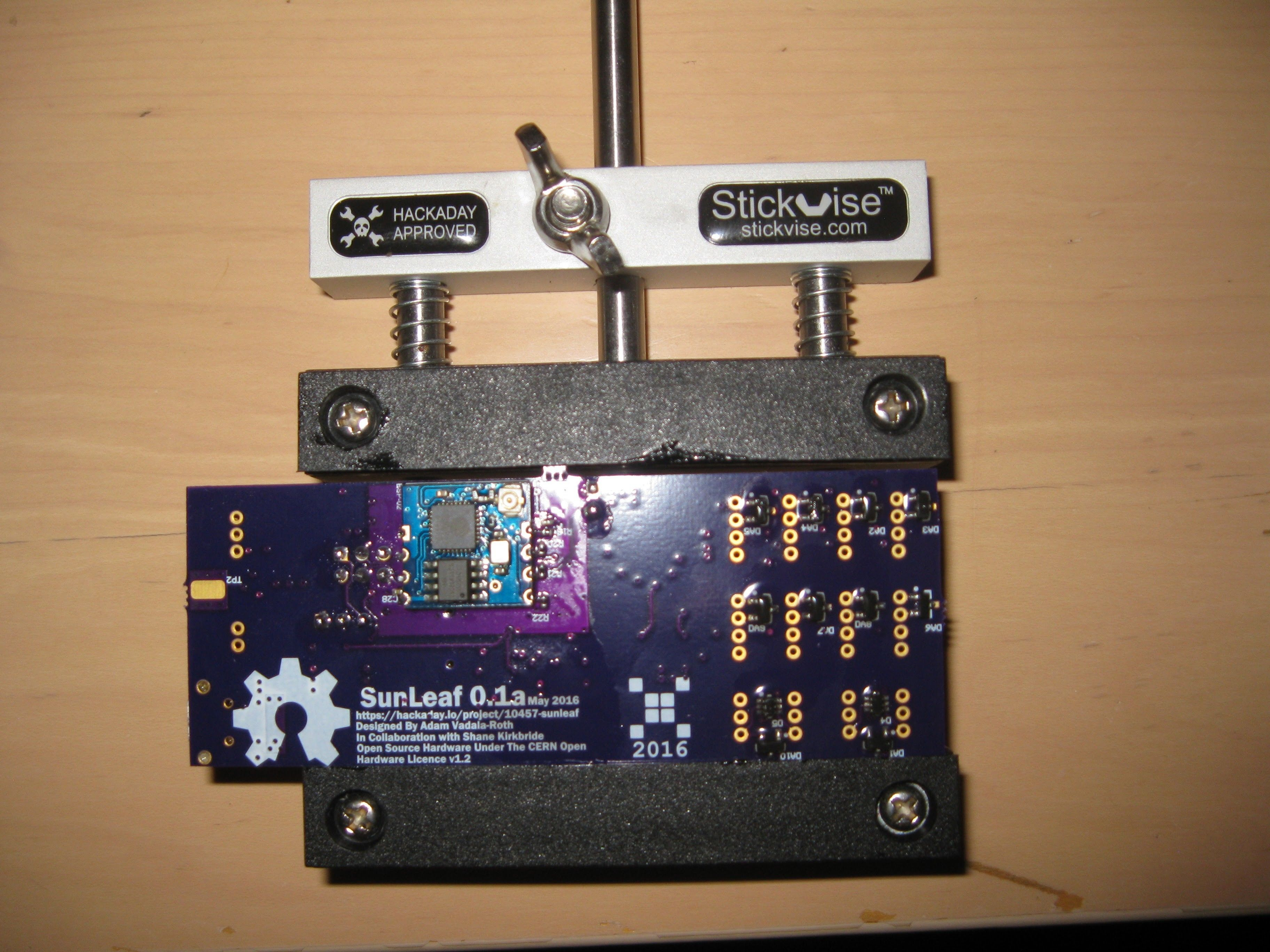 The SunLeaf is a wireless sensor module for remote sensing ...
