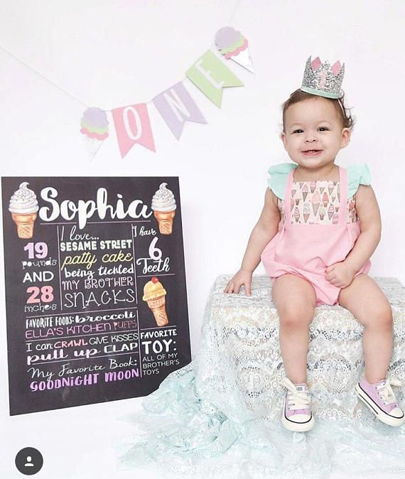 8363f32534c Ice Cream romper ice cream birthday outfit ice cream bubble