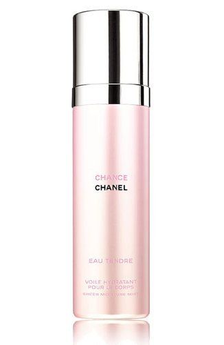 Chanel Chance eau Tendre 3.4 oz / 100 ml Sheer Moisture Mist by CHANEL. $67.95. Chanel Chance eau Tender Sheer Moisture Mist. Chanel Chance eau Tender 3.4 oz / 100 ml Sheer Moisture Mist. Chance eau Tender Moisture Mist Chanel Chanel Chance eau Tender Sheer Moisture Mist Chanel Chance eau Tender 3.4 oz / 100 ml Sheer Moisture Mist A new facet of Chance is born the third generation of the Chance Fragrance family. The new incarnation of the decidedly young scent, Chanc...