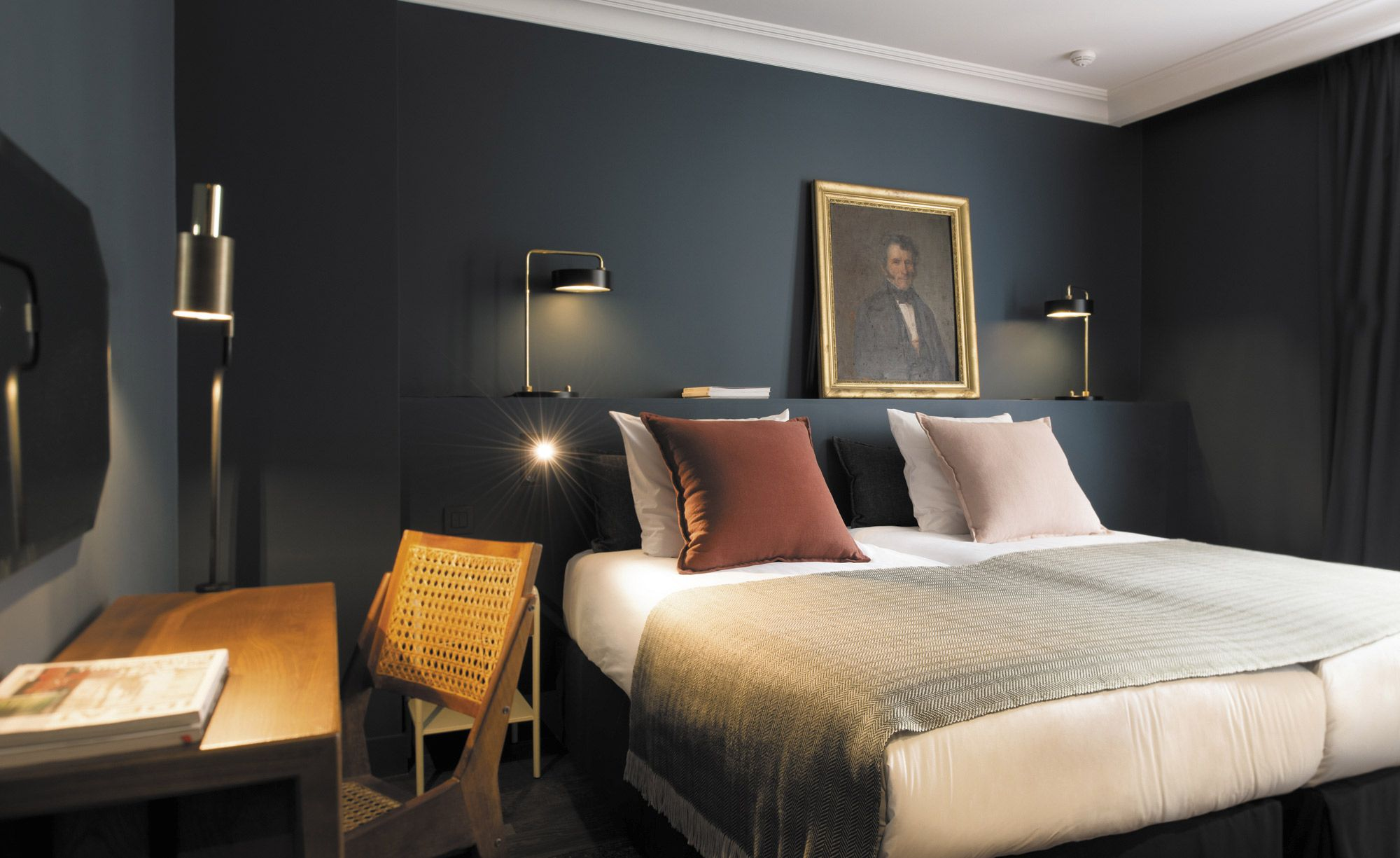 Latest bedroom interior design trends coq hotel paris france  leading hotels luxury real estate and