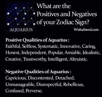 description of a aquarius horoscope