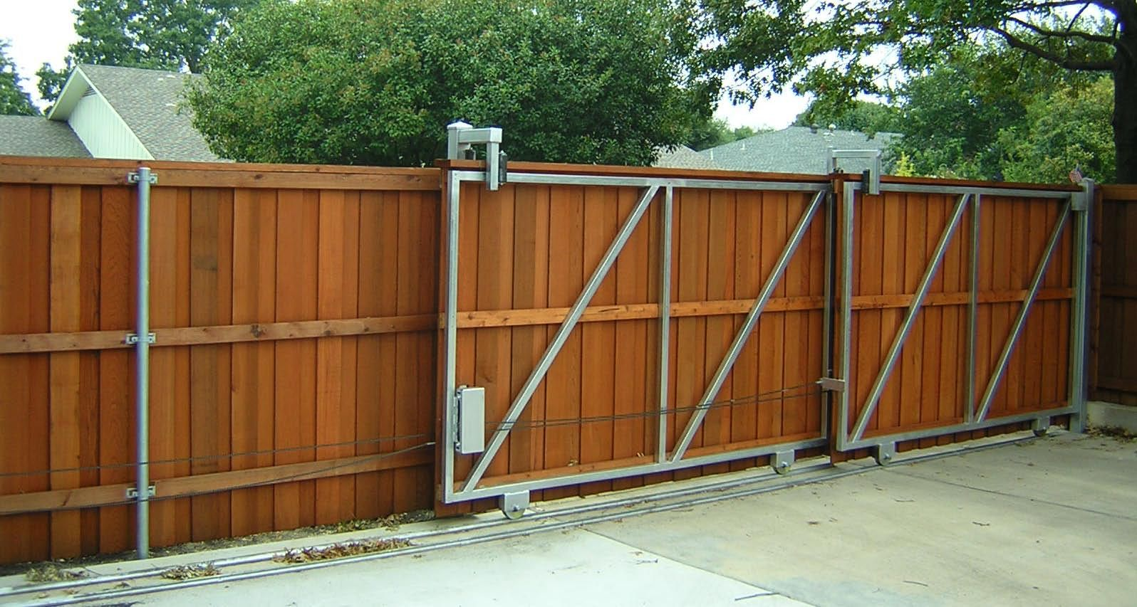 78 Backyard Concepts Dallas Tx 75218 Angies List Sliding Fence Gate Wood Fence Design Wooden Fence