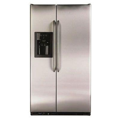 GE 220 240 Volt 50 Hertz 85cm Side/Side Stainless Steel Refrigerator  GSE22KEWF SS