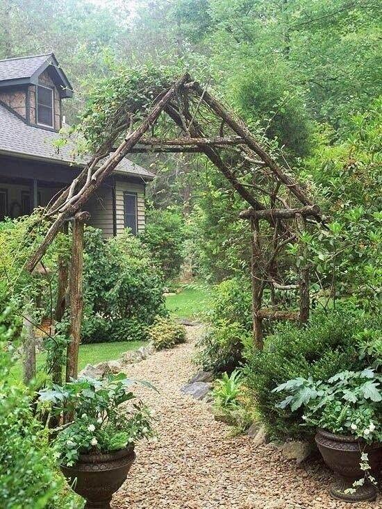 decoracion-de-jardines-rusticos-casa-de-madera | Casa de mis sueños ...
