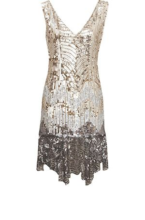 80ee1cf7a698 sequin oasis | Fashion in 2019 | Flapper style dresses, Fashion ...