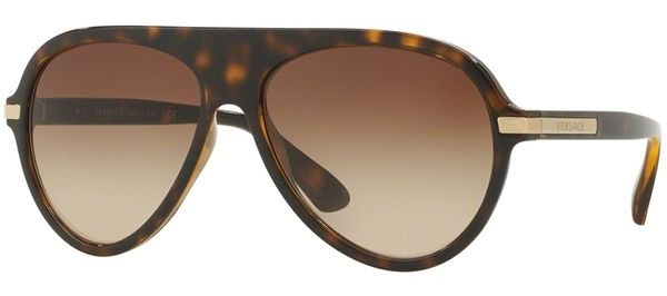 4dc3bc9a8042 Gafas de Sol - Versace - VE4321 - 108 13 HAVANA    BROWN GRADIENT ...