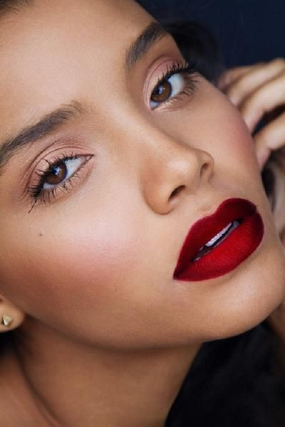 Deep Red Lipstick For Dark Skin Lipstick For Dark Skin Dark Red