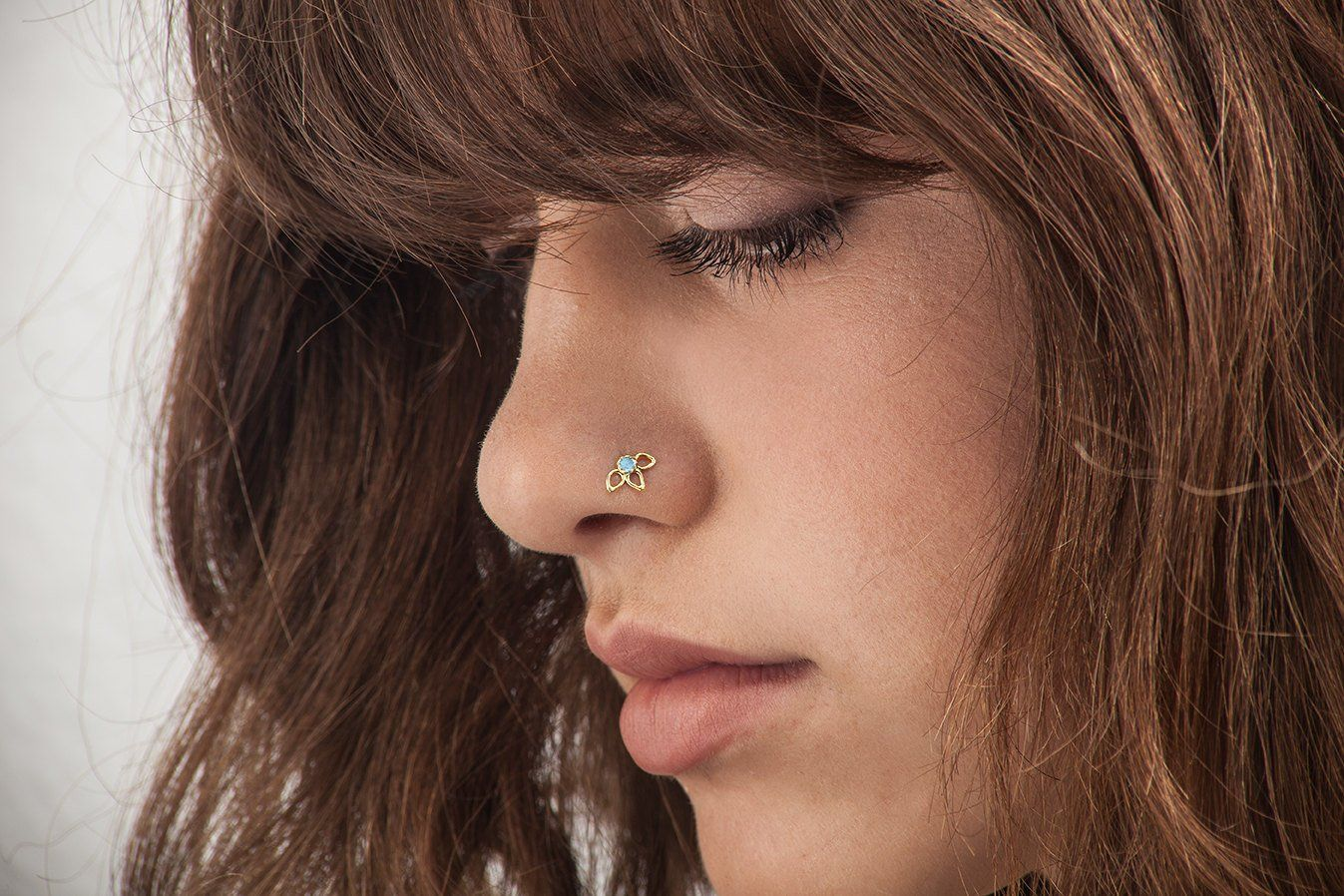 Cute nose piercing jewelry  Nose Stud Nose Pin Flower Nose Stud Gold Nose Stud Nose Screw