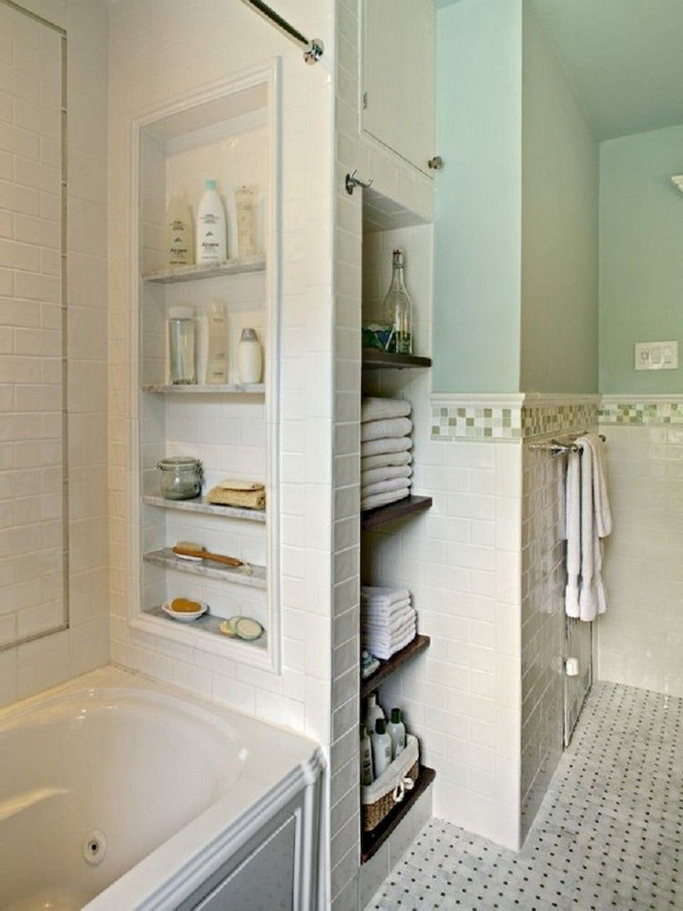 Explore Bathroom Cabinet Ideas On Pinterest See More Ideas About Small Bathro Built In Bathroom Storage Bathroom Storage Solutions Small Bathroom Storage