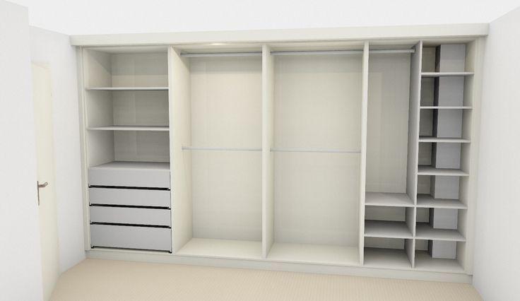 indeling kledingkast - Google zoeken - Kast kinder slaapkamer ...