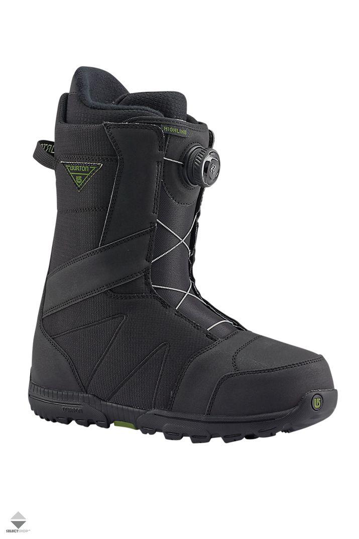 Buty Snowboardowe Burton Highline Boa Black Noir 13176102001 Snowboard Boots Snowboarding Women Boots