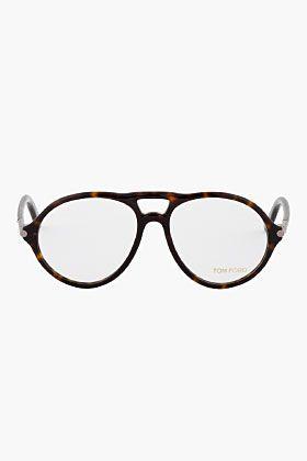 Tom Ford Black Tortoise Ft 5290 Glasses For Men Ssense Mens Glasses Tom Ford Tom Ford Sunglasses