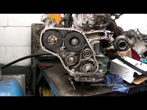 ▷ land rover 200tdi timing belt from broken belt to retiming the Timing Belt Replacement