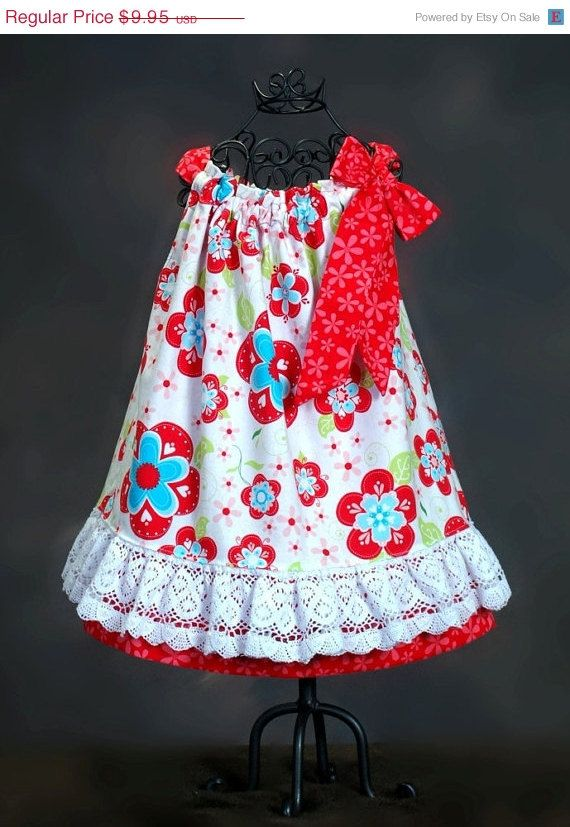Sew Lacy Pillowcase Dress Pattern - Back to School - PDF Pattern ...