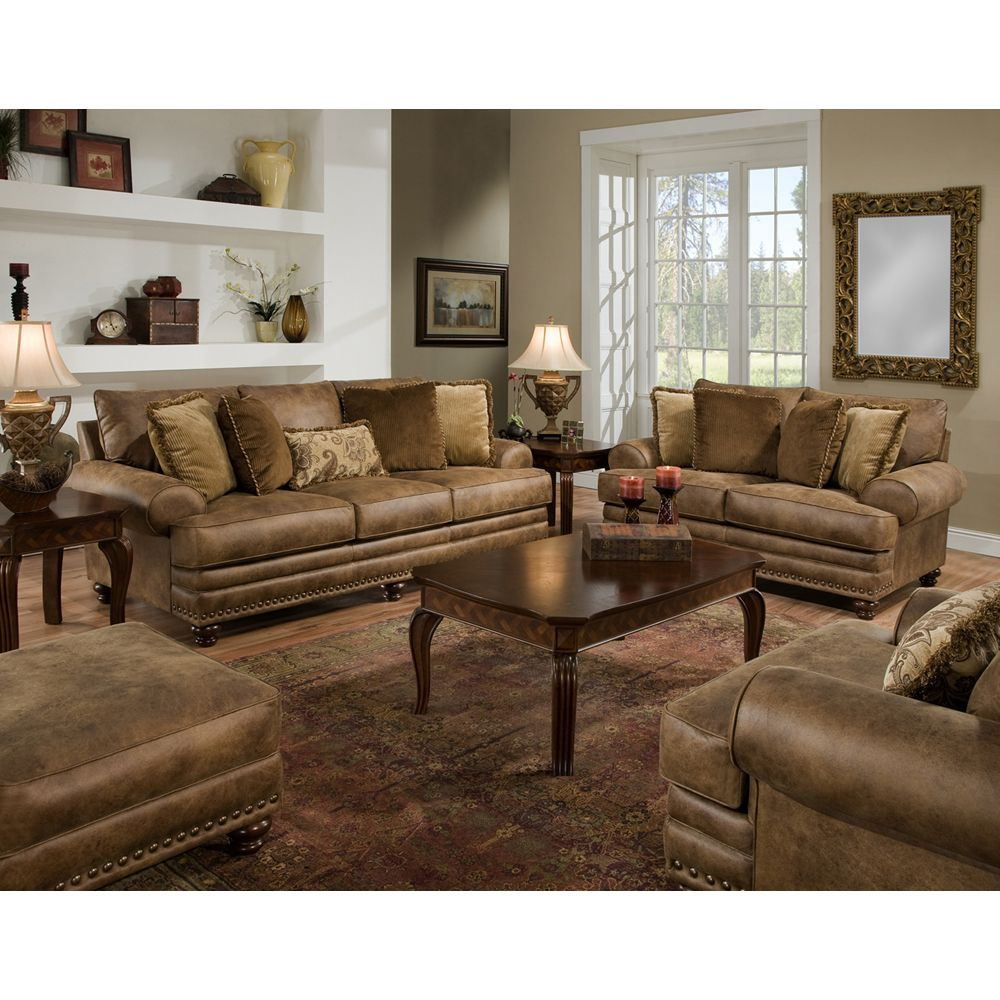 Sheridan 8 Piece Living Room Set  Richmond Rustic Furniture