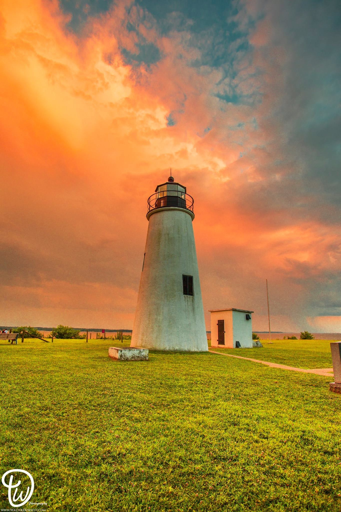 Turkey Point Lighthouse in North East, MD. | Lighthouse ...
