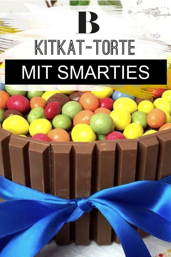 Kitkat Torte Mit Smarties Unglaublich Gut Rezept Chefkoch