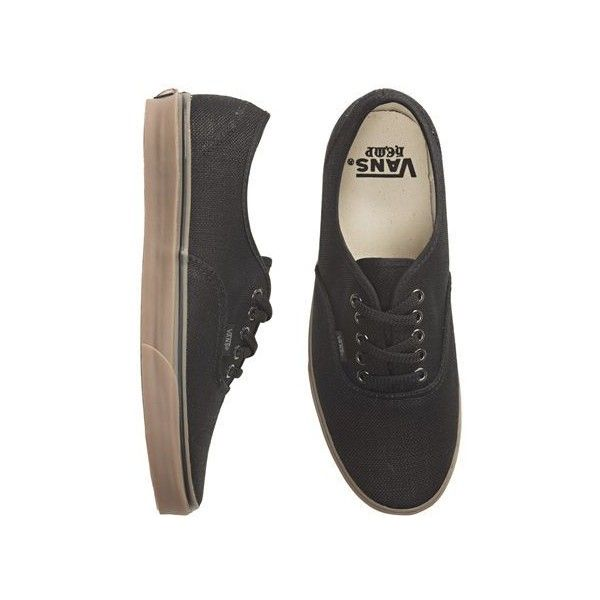 56f02bb58e Vans Authentic Hemp Shoe ( 52) ❤ liked on Polyvore featuring shoes ...
