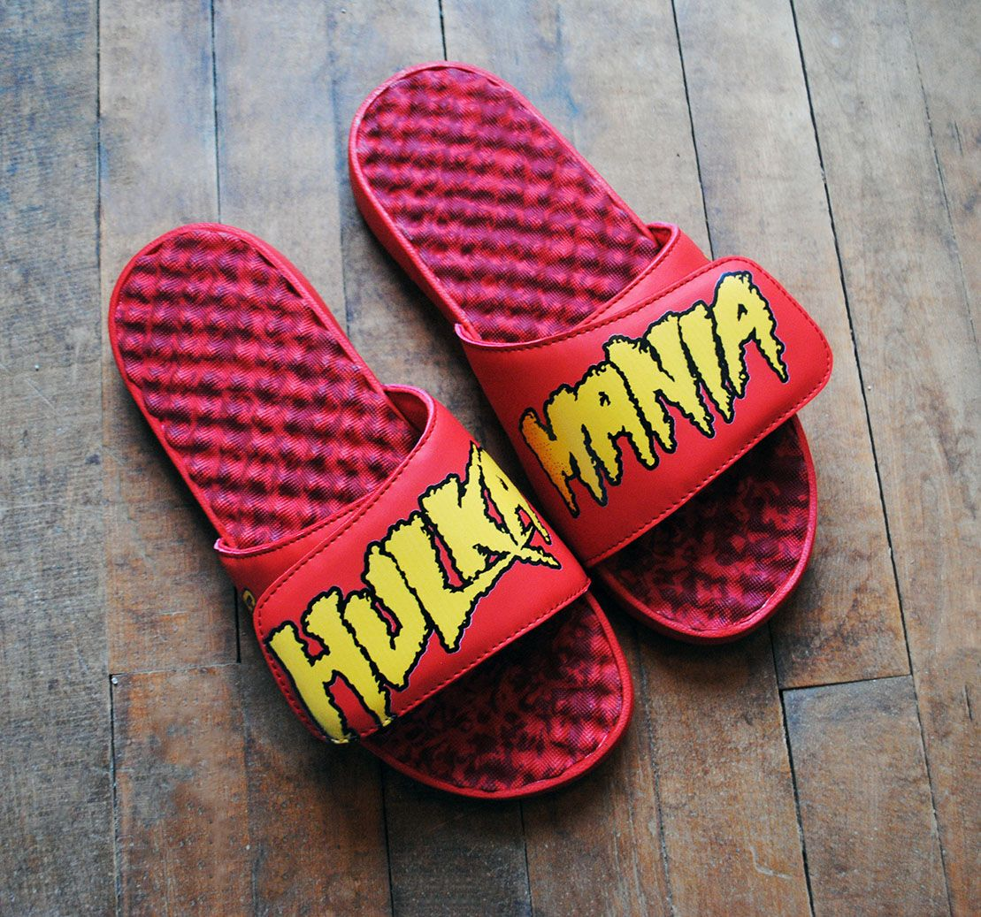 HULKAMANIA!!! *1 of 1* Not for sale. But feel free to customize your own unique pair! What would you create!