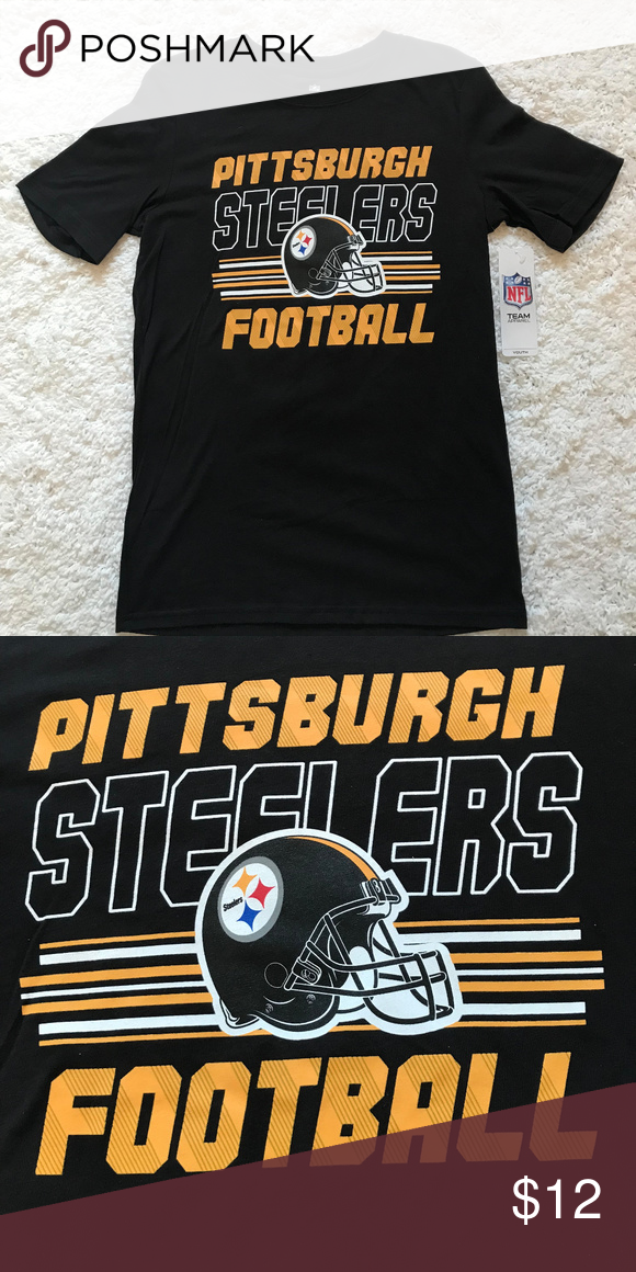 Pittsburgh Steelers NFL Youth T-Shirt NFL Pittsburgh Steelers Shirt Youth  Size L and XL 59ec69b15