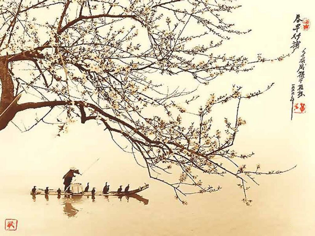 This is a Old Japanese Painting. ... click to see full ...