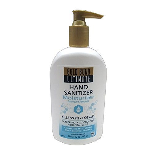 Gold Bond Hand Sanitizer And Moisturizer 12 Oz Bottles Pack Of 3