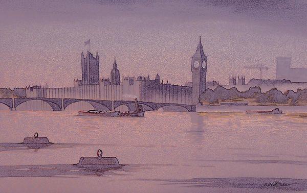 Westminster And Big Ben 1 ©Bill Holkham