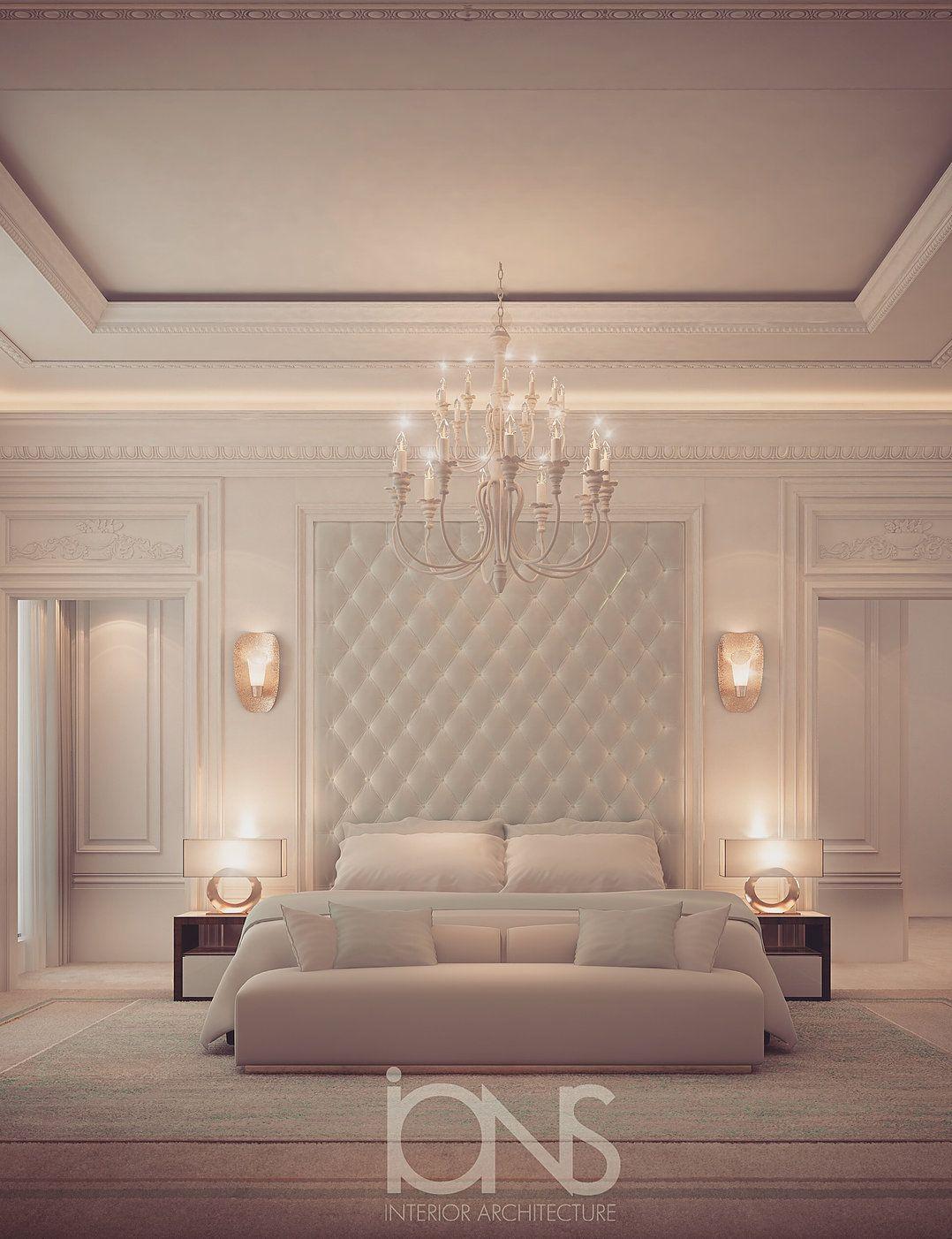 Bedroom Design Dubai Villa Interior Design Classic Bedroom