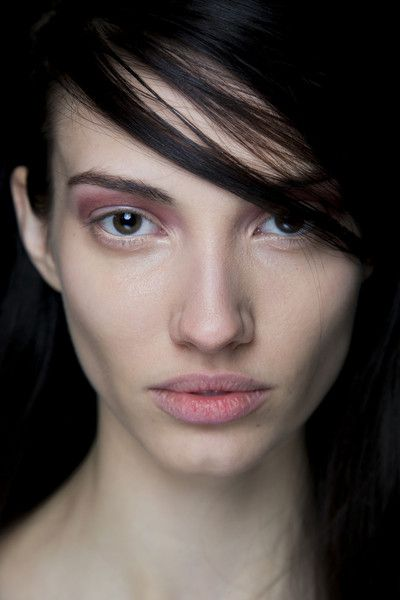 BCBG Max Azria Fall 2014 beauty backstage