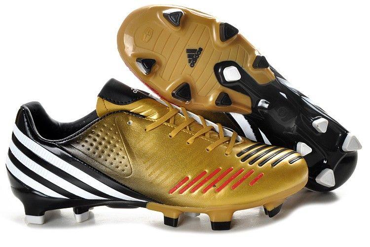 info for c26c5 70e76 Adidas Predator LZ TRX FG Football Shoes Gold Black White