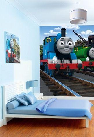 #Kinderkamer Thomas de Trein #kidsroom