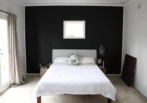 In The Master Bedroom We Will Be Painting An Accent Wall
